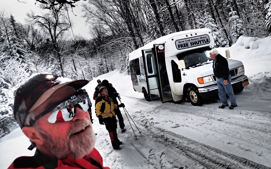 Backcountry Ski shuttle March 10, 11